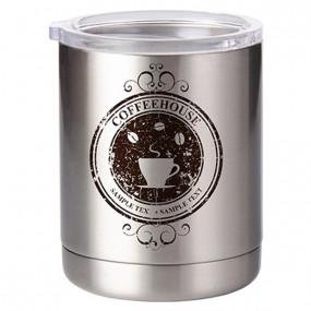 Grand mug inox personnalisé