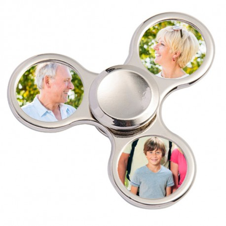 Hand spinner personnalisable photo