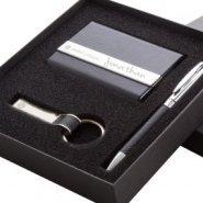 Coffret stylo porte carte et porte clé gravé