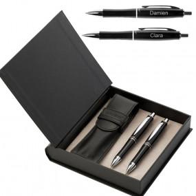 Parure 2 stylos Dickens personnalisée