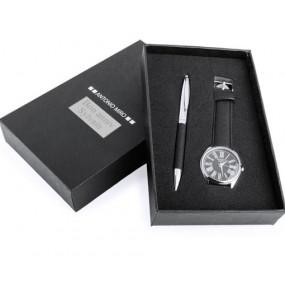 Coffret montre et stylo gravé