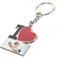 porte clé I love personnalisé