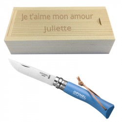 Couteau Opinel bleu n° 7