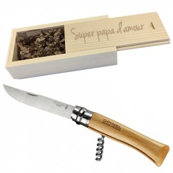 Couteau opinel tire bouchon n°10