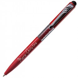 Stylo strass rouge