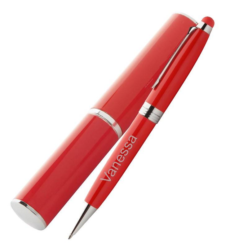 Stylo bile rouge avec tube