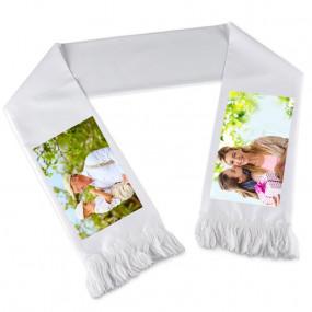 Echarpe blanc photo