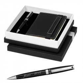 Coffret bloc note stylo luxe