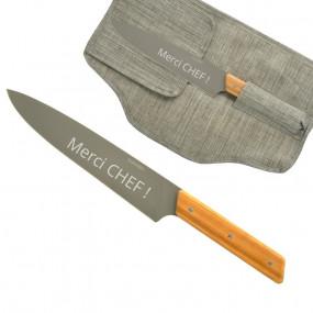 Couteau chef personnalisé
