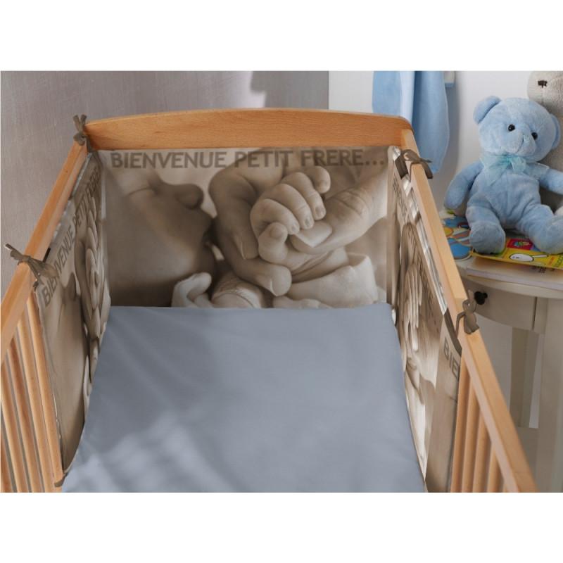 tour de lit bébé personnalisé photo