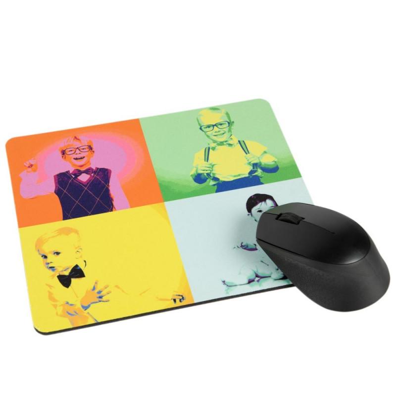 Tapis de souris avec Pop Art personnalisé