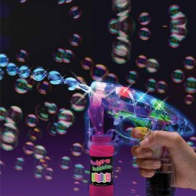 Pistolet à bulles multicolore