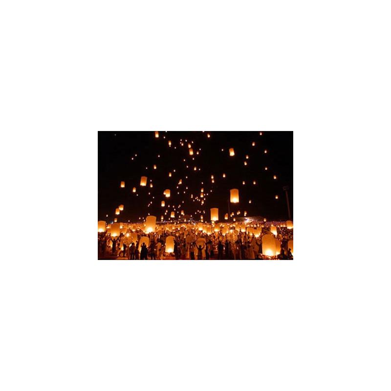 Lanternes magiques volantes