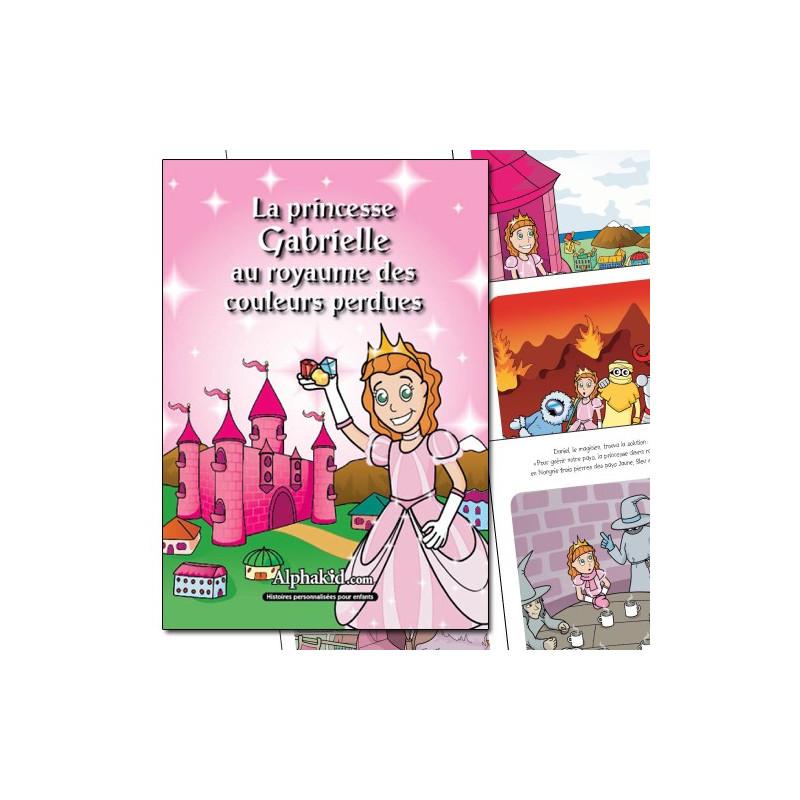 Livre personnalisé prince(sse)