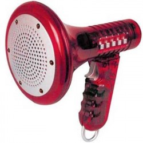 Mégaphone original qui change la voix