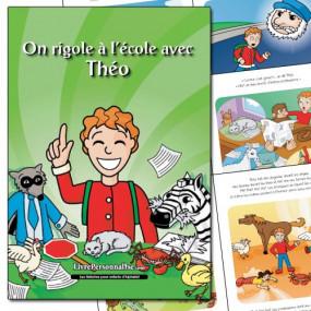 Livre enfant avec histoire sur l'école