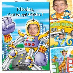 Livre enfant personnalisé avec une photo