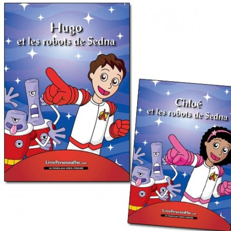Livre enfant Science Fiction unique