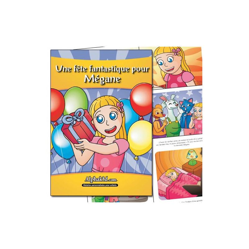 Livre enfant personnalisé anniversaire