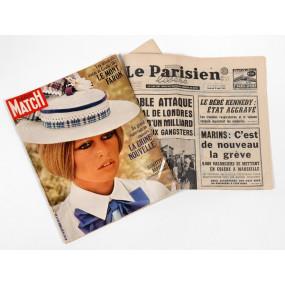 Quotidien et Paris Match du jour de votre choix