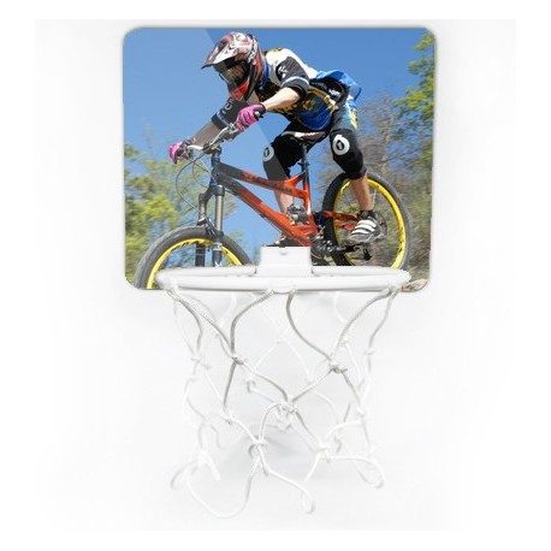 Mini panier de basket avec planche personnalisée