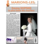 Fausse une de journal à personnaliser pour un mariage