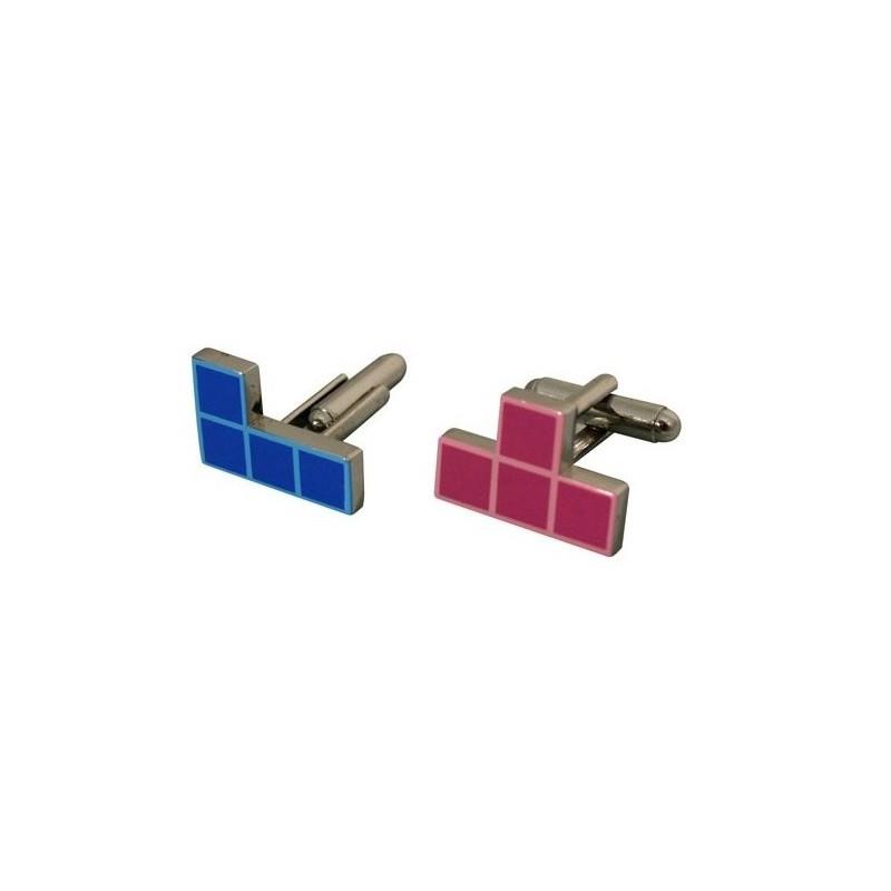 Boutons de manchette Tetris