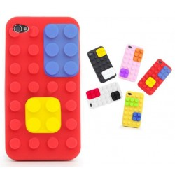 Coque Iphone 4 style Lego