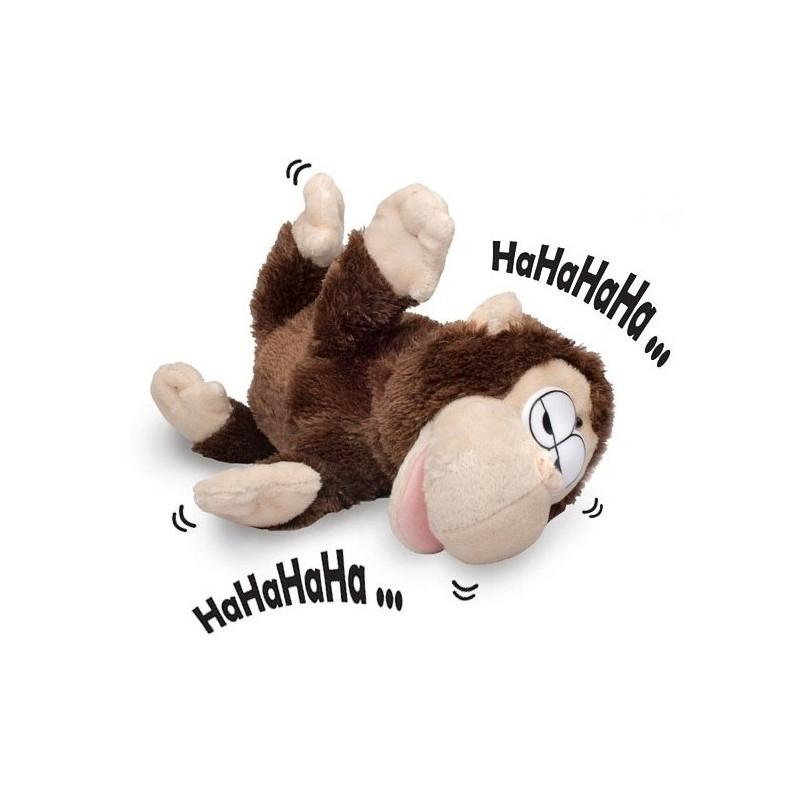 Peluche en forme de singe hilarante - Petit singe rigolo ...