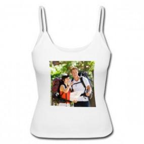 Debradeur femme blanc personnalisé photo
