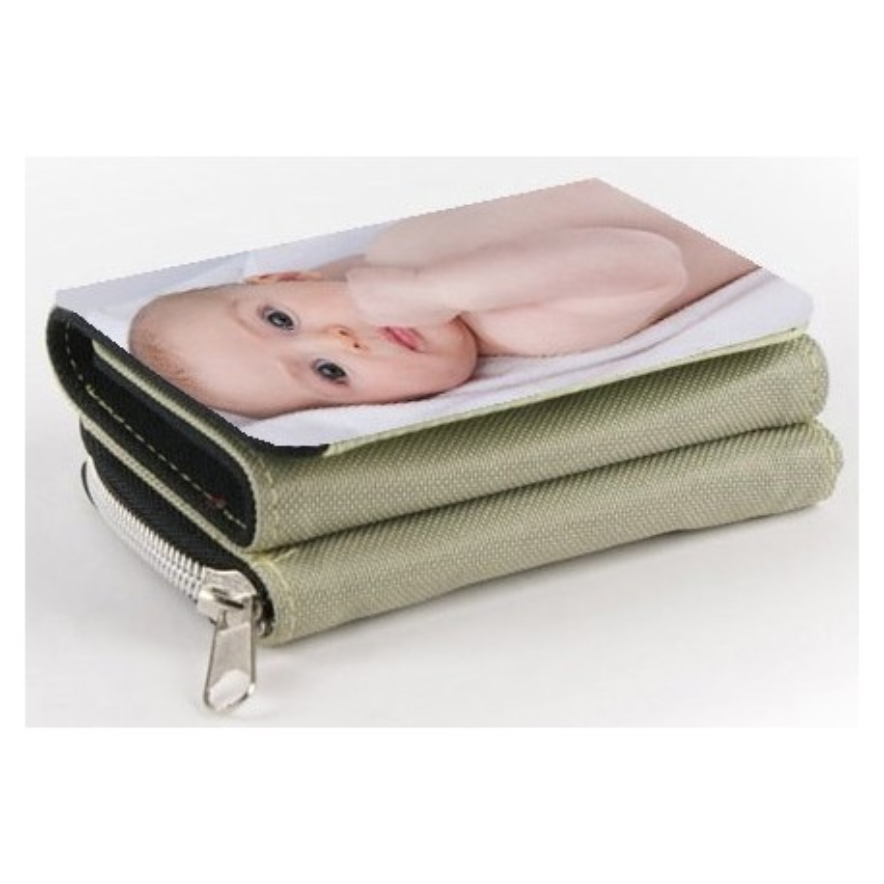 Portefeuille beige à imprimer