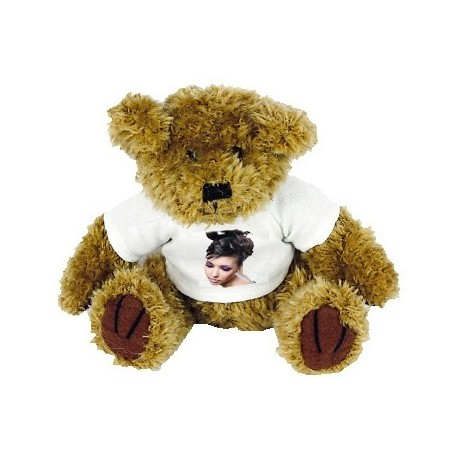 Peluche ourson personnalisable