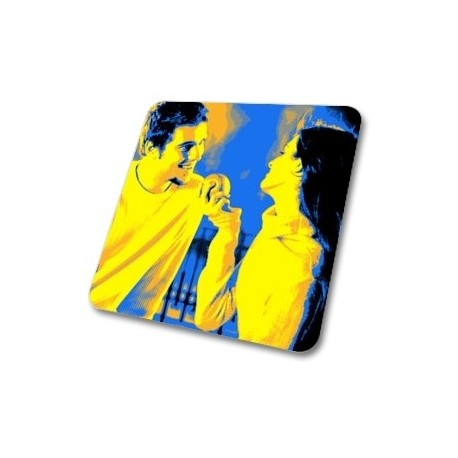 Sous verre photo Pop Art en bois rigide