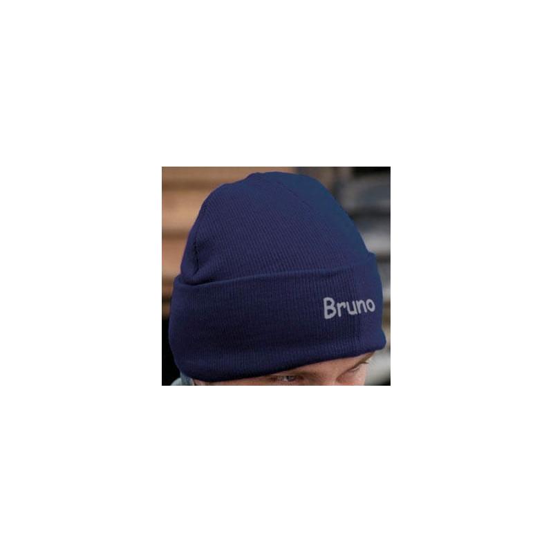 Bonnet brodé