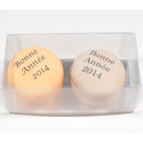 2 macarons personnalisés
