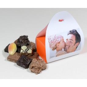Ballotin chocolat photo