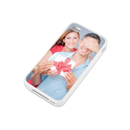 Coque iphone 4 blanche photo