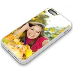 Coque Iphone 5 blanche photo