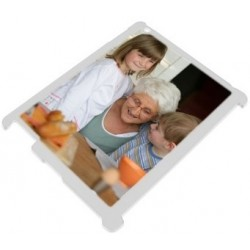 Coque Ipad blanche photo