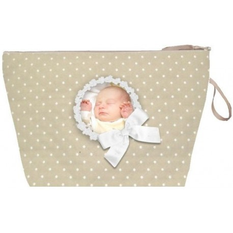 Trousse de toilettes lin original