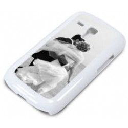 Coque photo S3 mini blanche