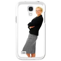 Coque S4 mini blanche photo