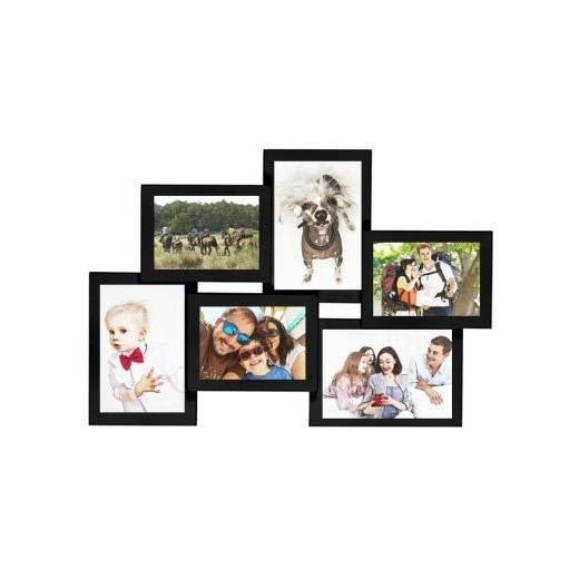 Cadre photo p le m le rectangle 4 photos de 10 x 15 cm - Cadre photo pele mele original ...