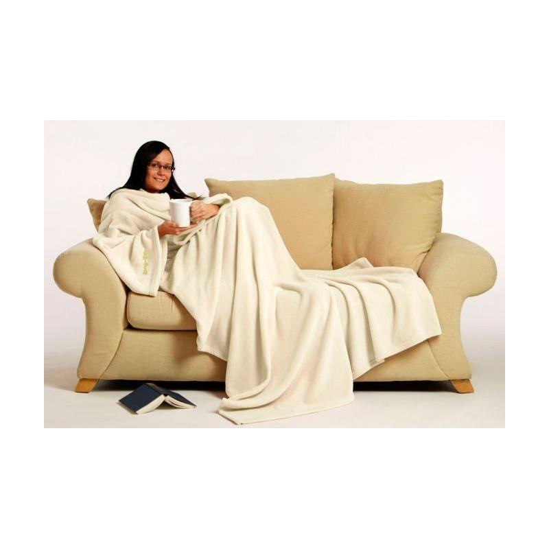 couverture avec manches polaire petite taille. Black Bedroom Furniture Sets. Home Design Ideas