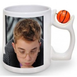Mug ballon basket photo