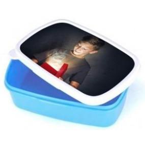 Boite repas bleue photo