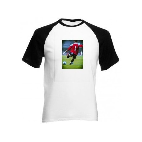 Tee shirt manches noires photo