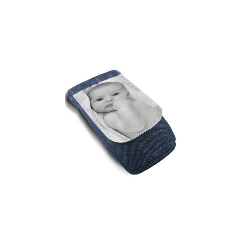 Pochette en jean téléphone photo