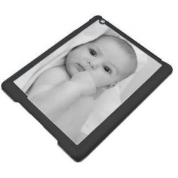 Coque Ipad Air photo bords noirs
