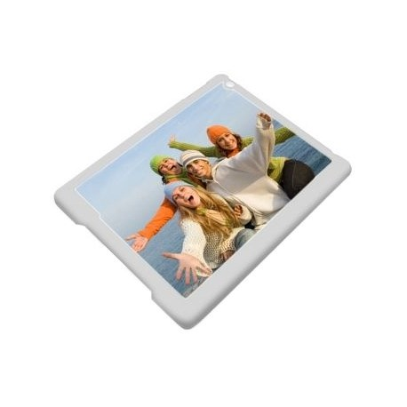 Coque Ipad air bordure blanche avec photo